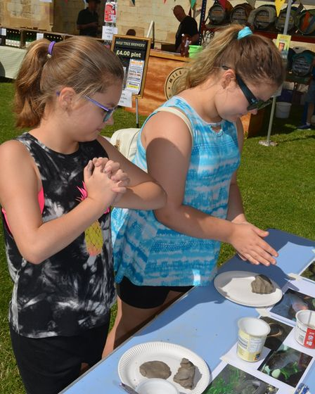 The fayre was all about the humble Eel and its importance to Ely over the centuries.