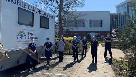 A new mobile cancer care unit has opened at Cromer Hospital.
