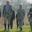 Prince Charles on a visit to Great Fen. Picture: CONTRIBUTED