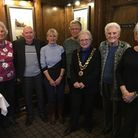 Dereham mayor Hilary Bushell at a Caring Friends for Cancer Mid Norfolk meeting.