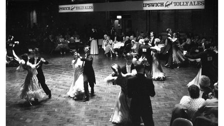 The Tolly Cobbold EastAnglian Ballroom Dancing Championships in 1986