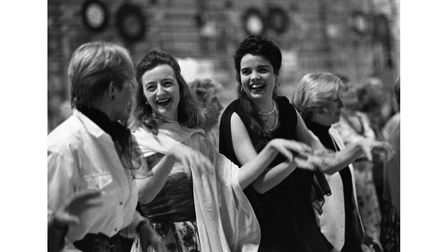 The last hangar dance which took place at RAF Bentwaters in February 1993.