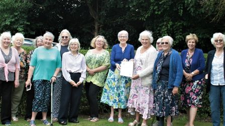 Members of Ely Northwold Women's Institute met earlier this month (July) to enjoy a strawberry tea together.