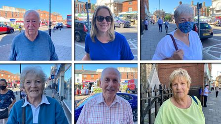People in Dereham, asked about their favourite shops