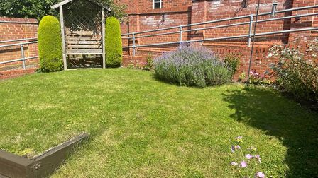 The outdoor space at Dereham Meeting Point