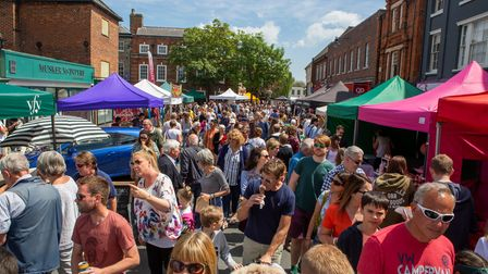 Beccles Food and Drink Festival will return in August.