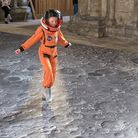 'One Small Step' is now at Peterborough Cathedral
