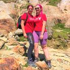 Slimming World consultants Aimėe Louiseand Anna Foster raised £900 for charity by climbing eight miles up Mount Snowdon.