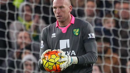 Bournemouth are reported to be interested in signing Norwich City goalkeeper John Ruddy. Picture by