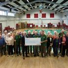 The Wymondham Shufflers shuffleboard team have received a £3,700 grant from South Norfolk Council. P