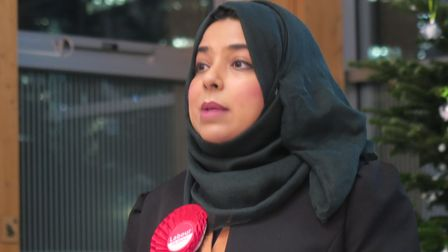 Labour candidate Apsana Begum at 2019 General Election hustings on Isle of Dogs where allegations emerged