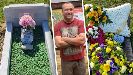 Allan Fisher has been thanked for his act of kindness after transforming a Downham Market gravestone.