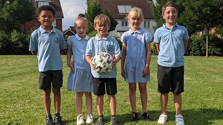 Cassius, Freya, Zachary, Florence, Harry from Takeley Primary School