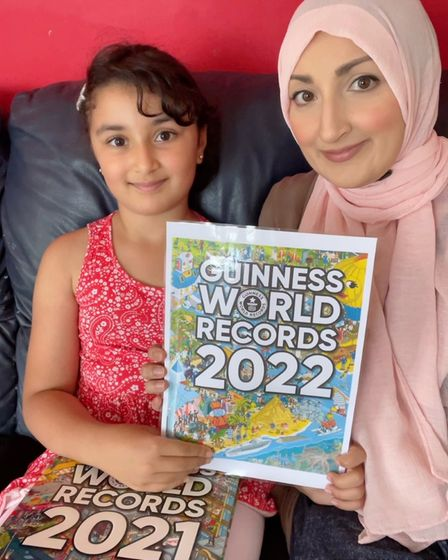 Rahma, is happy knowing she will be on her favourite book cover throughout the UK