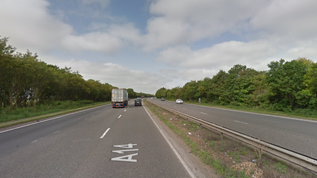 There are huge delays on the A14 at Newmarket