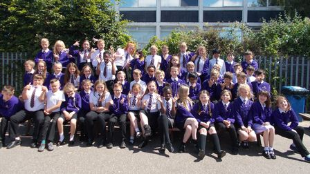Top Class 2018: Edward Worlledge Ormiston Academy's year 6 leavers from both the Endeavour and Wisdo