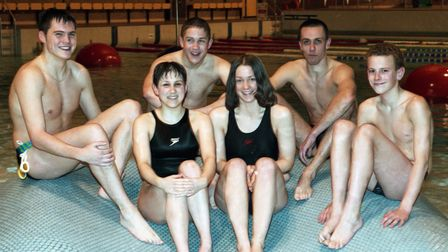 From The Archives WestMembers of the Sudbury Swimming Club January 1998Neg 232228E