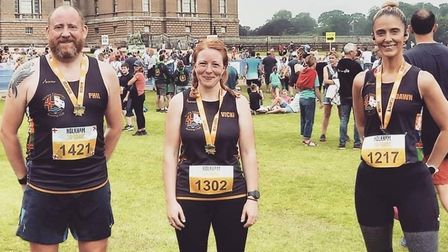 Three Counties Running Club members took part in the Holkham 10k event.