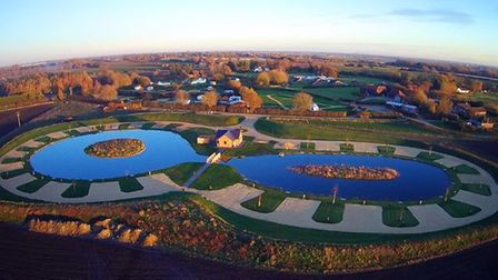 Field End Water holiday park in Doddington