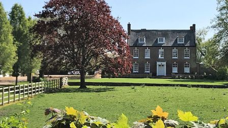 Inham Hall and parkland in Wisbech St Mary
