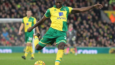 Alex Tettey has proved to be popular in Norwich and Norway in 2015. Picture by Paul Chesterton/Focus