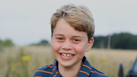 A new picture of Prince George in Norfolk has been released to mark his eighth birthday