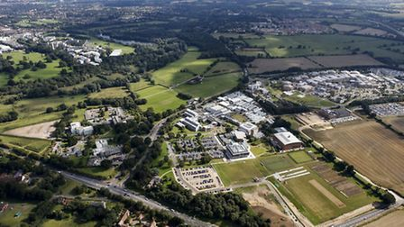 Norwich Research Park. Picture submitted