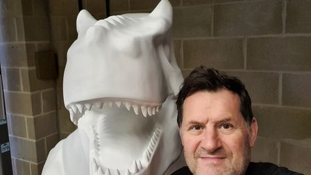 Aylsham-based artist MikRichardson has contributed to the GoGoDiscover trail having done work for Blue Peter and Ed Sheeran