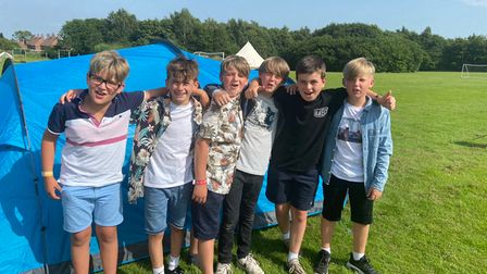 Astley Primary School has hosted 'Sharkitude', anend-of-year festival for its Year 6 leavers.