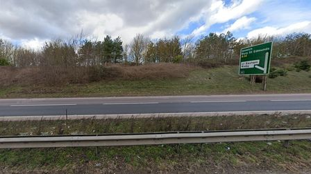 A14 at Risby