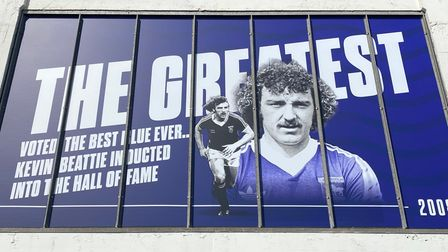 Cobbold Stand iconic images