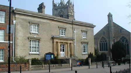 Wisbech and Fenland Museum, located in the heart of the town centre.