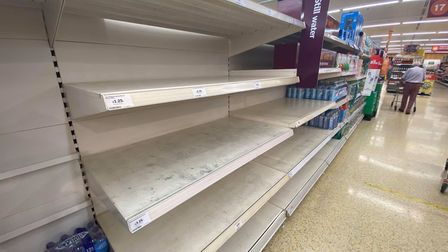 Shops have warned that shortages are only temporary