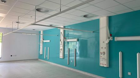 The Darwin Group has built a new 32-bed decant ward at West Suffolk Hospital