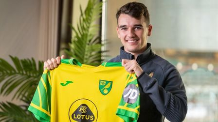 Norwich City have signed Liam Gibbs from Ipswich Town