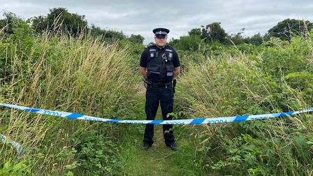 A body has been discovered at Mousehold Heath in Norwich, with police cordons still in place two days later