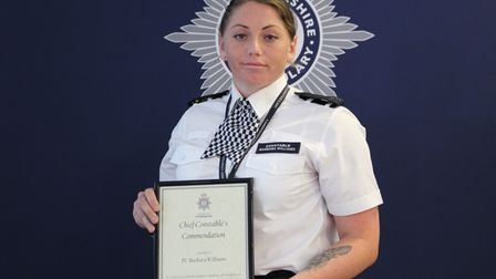 Chief Constable Nick Dean commended officers for long service and also handed out awards for individual acts of bravery