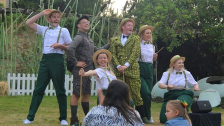 KD Theatre Productions will perform Honk the Musical in the grounds of Ely Cathedral this weekend.