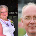 Sue Hacon, the mayor of Great Yarmouth, and Trevor Wainwright, the labour group leader