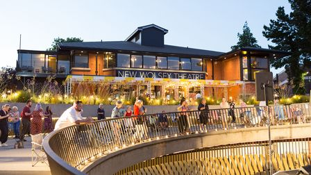 The New Wolsey theatre has launched a new outside summer programme