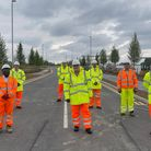 Group at the newHorizon 120 Business and Innovation Park being built off the A131 at Great Notley, Essex