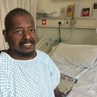 Covid-19 patient Sean Hunte has returned home after 203 days at the NNUH