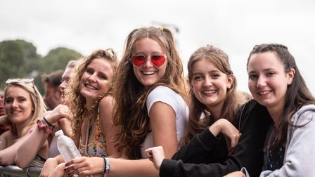 Crowds enjoy Maisie Peters on the Obelisk Stage at Latitude. Picture: Sarah Lucy Brown