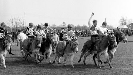 A Donkey Derby at Mildenhall in April 1968. Were you there?EADT 3.10.11