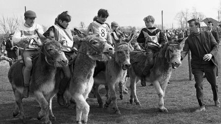 From The Archives WestDonkey Derby at MildenhallApril 1968
