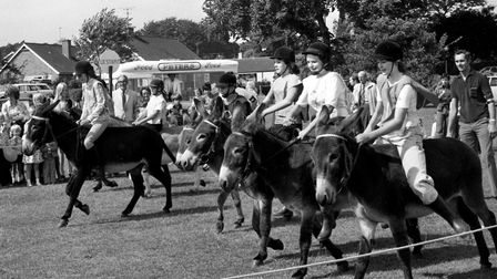From The Archives EastDonkey Derby at Woodbridge FeteAugust 1975