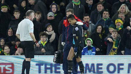 Arsene Wenger has condemned Ryan Bennett for his role in Alexis Sanchez's injury exit at Norwich Cit