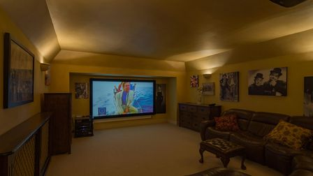 The property contains a home cinema