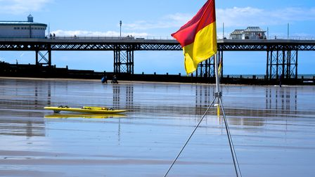 Only swim between red and yellow flags on a beach where there are lifeguards