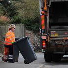 The High Sheriff of Norfolk, the Countess of Leicester, spends the day with the Kier binmen. Picture